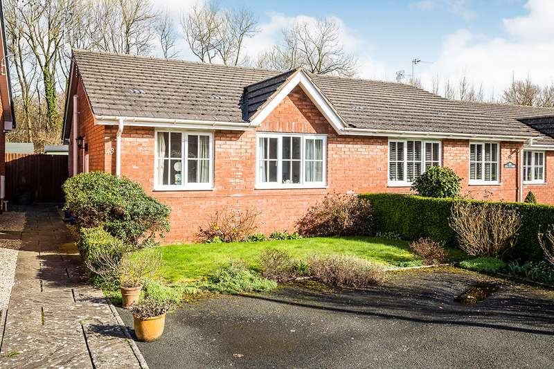 2 Bedrooms Semi Detached Bungalow for sale in Fernhill Lane, Gobowen, Oswestry, Shropshire, SY11