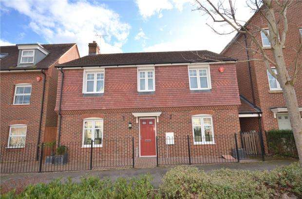 4 Bedrooms Detached House for sale in Harrier Way, Bracknell, Berkshire