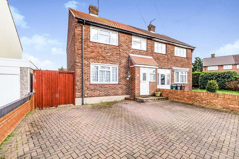 3 Bedrooms Semi Detached House for sale in Hill House Road, Dartford, Kent, DA2