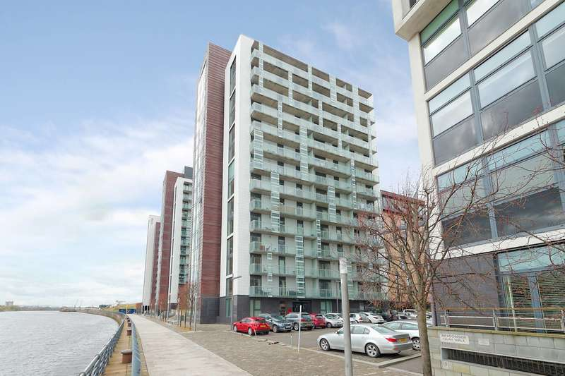 1 Bedroom Flat for sale in Castlebank Place, Glasgow Harbour, Glasgow, G11 6BX