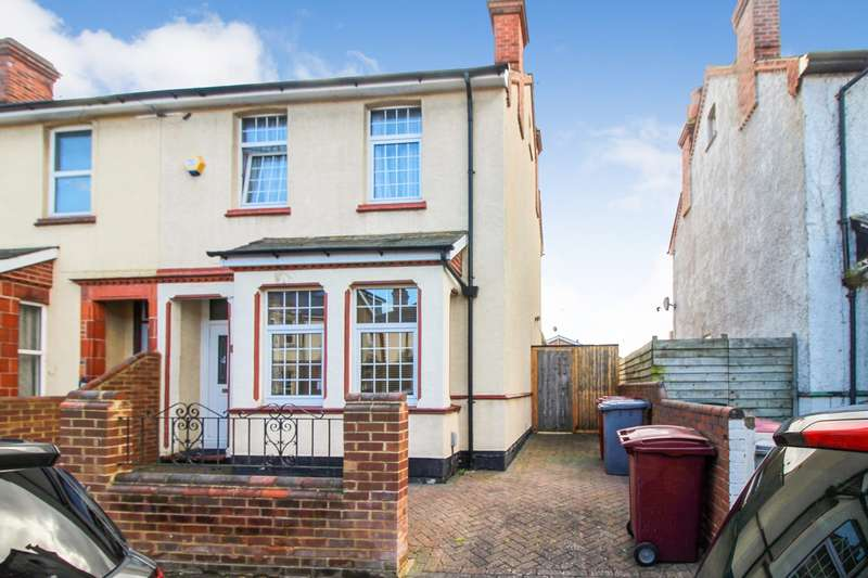 3 Bedrooms Semi Detached House for sale in Brisbane Road, Reading, RG30