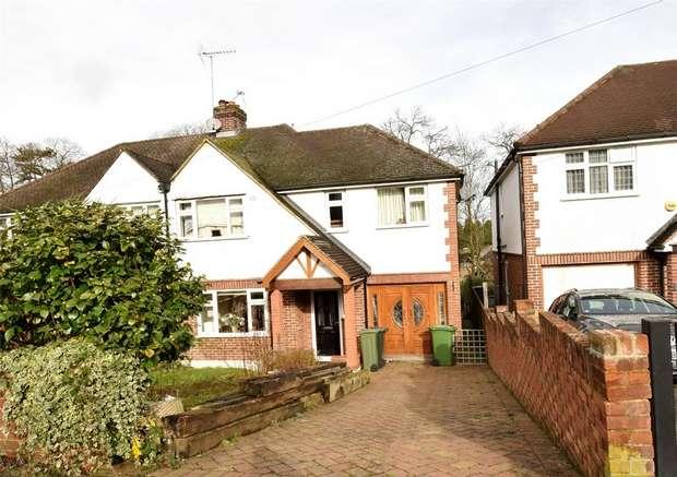 4 Bedrooms Semi Detached House for sale in Pinewood Avenue, SEVENOAKS, Kent