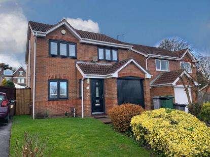 3 Bedrooms Detached House for sale in Wilfred Owen Drive, Birkenhead, Merseyside, CH41