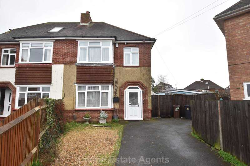 3 Bedrooms Semi Detached House for sale in Bury Crescent, Gosport