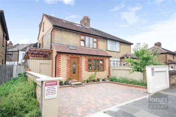 5 Bedrooms Semi Detached House for sale in Brookfield Road, Edmonton, N9