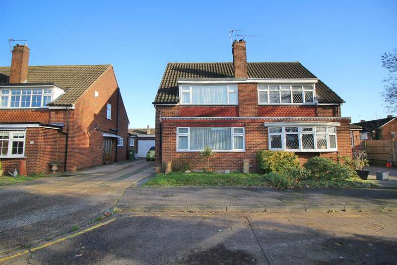 4 Bedrooms Semi Detached House for sale in Roswell Close, Cheshunt, Waltham Cross