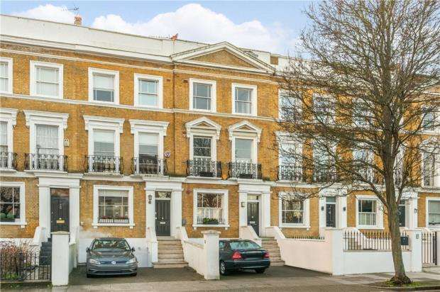 5 Bedrooms Terraced House for sale in Ordnance Hill, St John's Wood, London, NW8