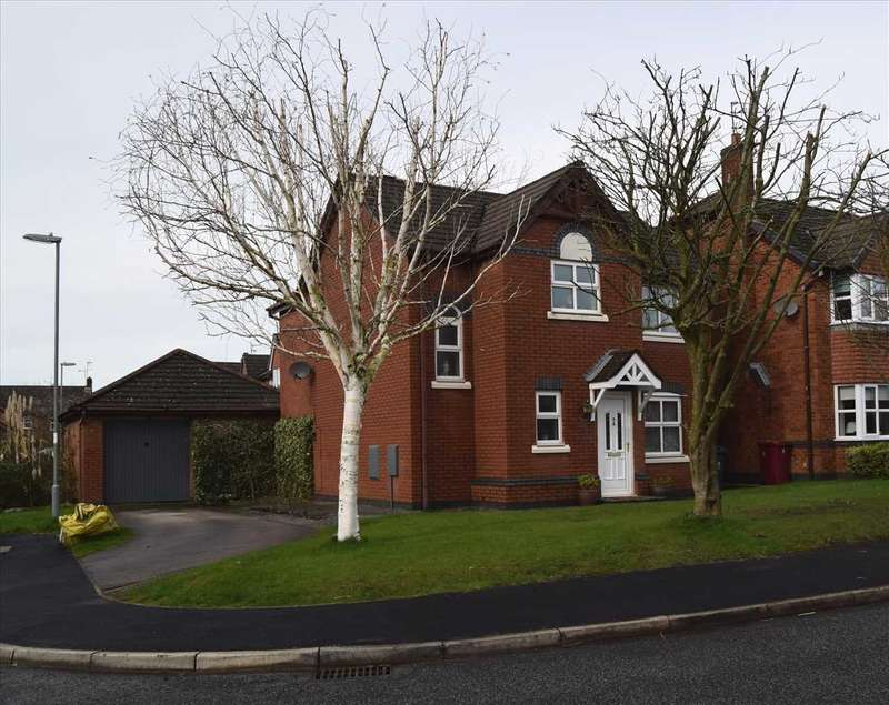 3 Bedrooms Detached House for sale in College Fields, Huyton, Liverpool