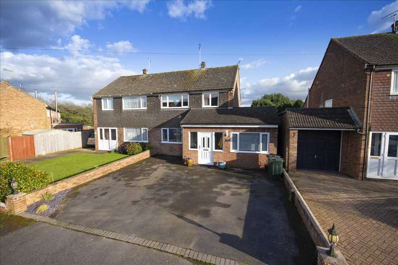 3 Bedrooms Semi Detached House for sale in Cherry Tree Road, Charing Heath