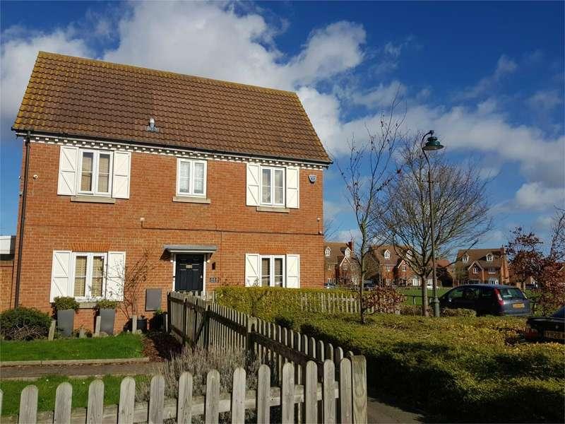 3 Bedrooms Detached House for sale in Sanderling Way, IWADE, SITTINGBOURNE, Kent