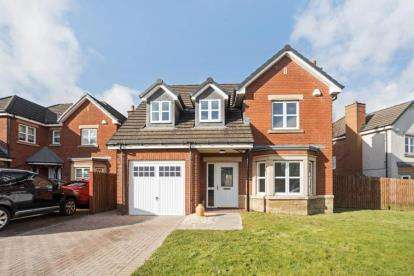 4 Bedrooms House for sale in Langhaul Road, Glasgow, Lanarkshire