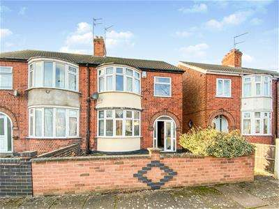 3 Bedrooms Semi Detached House for sale in Exmoor Avenue, Leicester