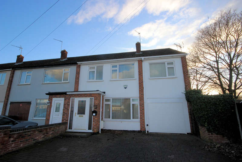 4 Bedrooms End Of Terrace House for sale in Anson Road, Shepshed