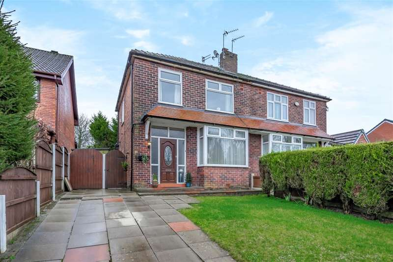 3 Bedrooms Semi Detached House for sale in Hawthorne Drive, Worsley, Manchester, M28 2DA