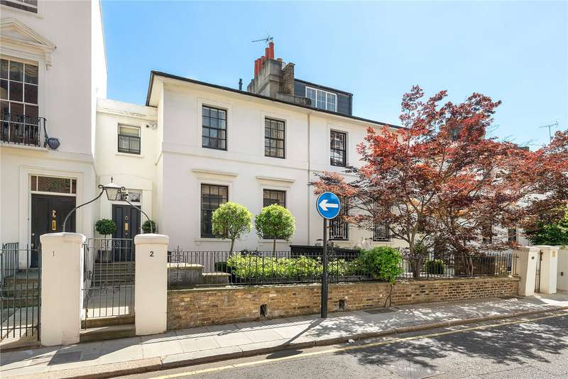 5 Bedrooms Terraced House for sale in Canning Place, London, W8