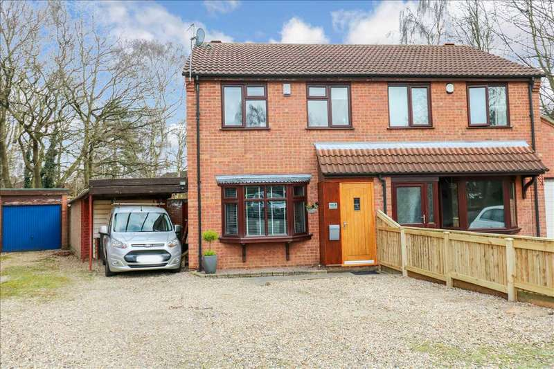 3 Bedrooms Semi Detached House for sale in Locking Close, Lincoln