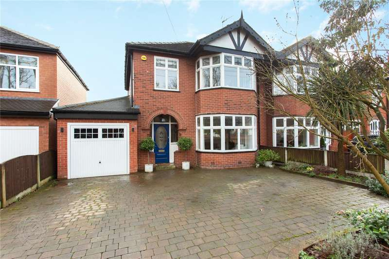 3 Bedrooms Semi Detached House for sale in Kempnough Hall Road, Worsley, Manchester, Greater Manchester, M28