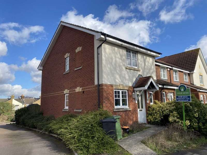 3 Bedrooms End Of Terrace House for sale in Stagshaw Close, Maidstone, Kent, ME15