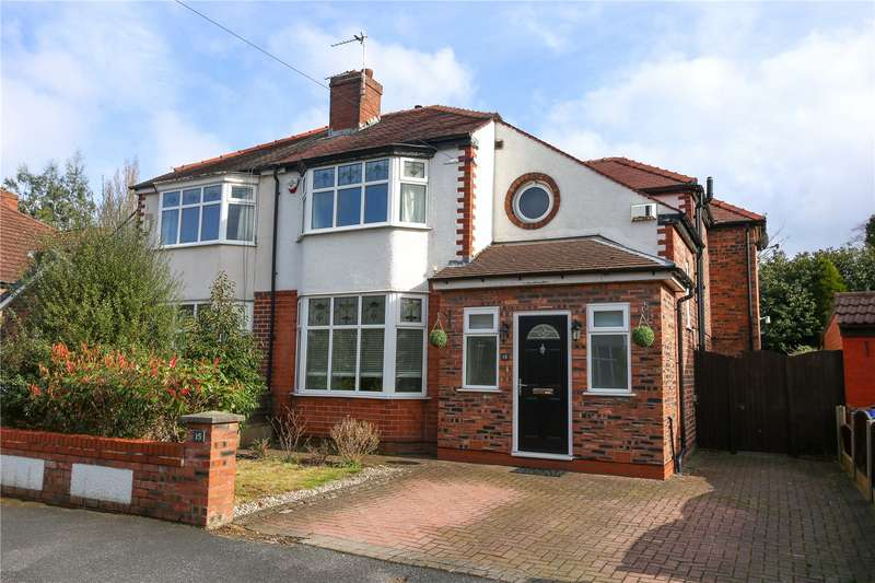 4 Bedrooms Semi Detached House for sale in Kingsfield Drive, Didsbury, Manchester, M20