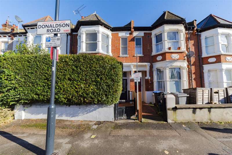 2 Bedrooms Maisonette Flat for sale in Donaldson Road, Queens Park, London NW6