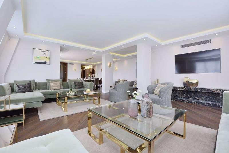 4 Bedrooms Flat for sale in Cavendish House, London, NW8