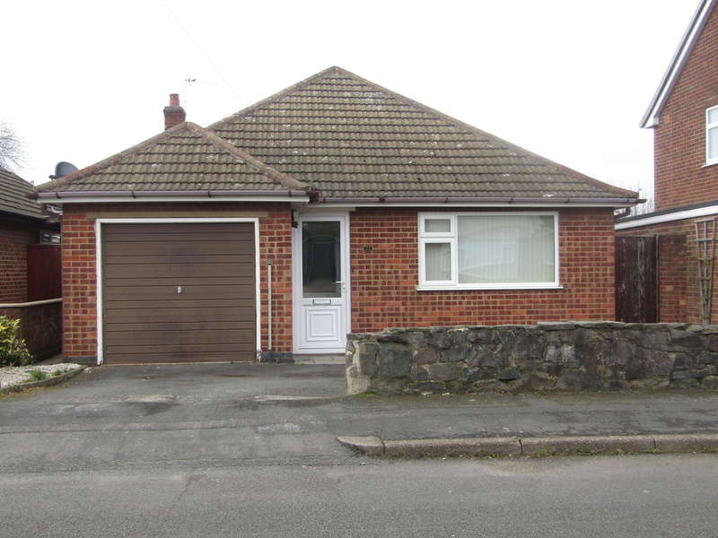 2 Bedrooms Detached Bungalow for rent in Ringwood Road, Shepshed