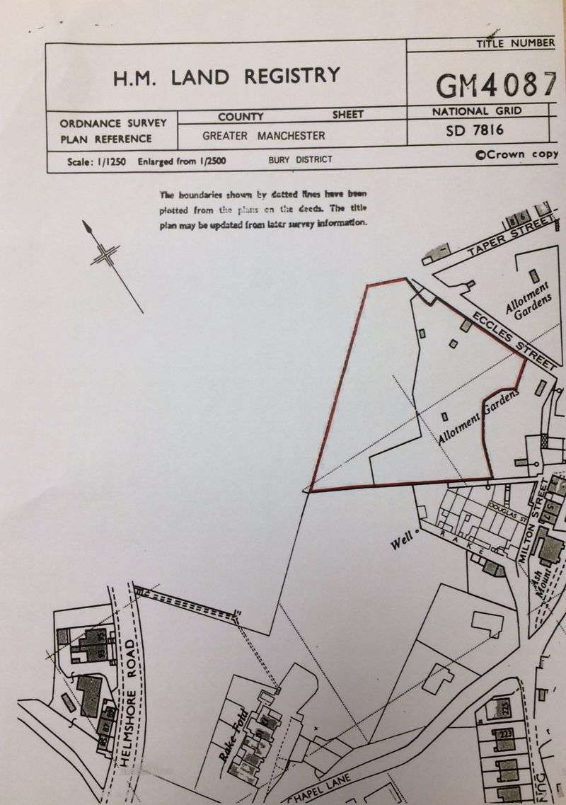 Property for sale in Off Lumb Carr Avenue, Bury