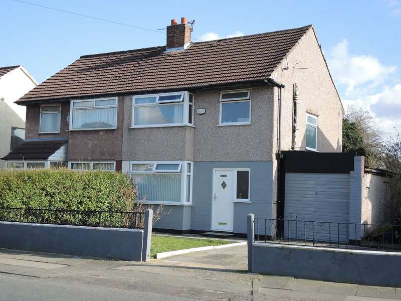 3 Bedrooms Semi Detached House for sale in Yew Tree Lane, West Derby, Liverpool