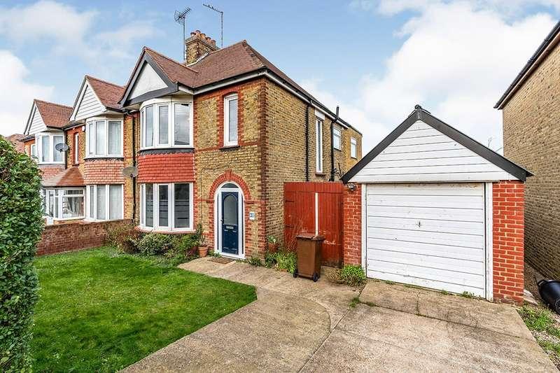 4 Bedrooms Semi Detached House for sale in Broadview Avenue, Rainham, Gillingham, Kent, ME8