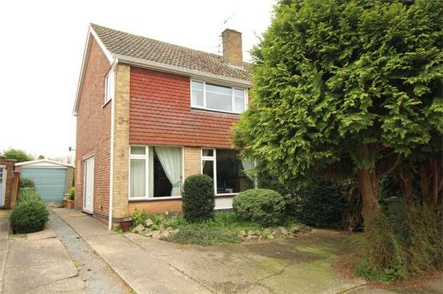 3 Bedrooms Semi Detached House for sale in Cosby, Leicester