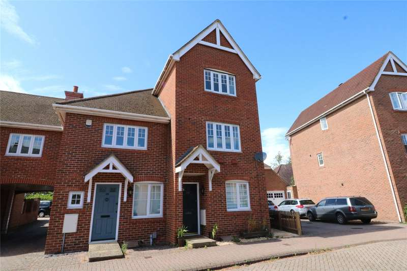 4 Bedrooms End Of Terrace House for sale in Wintney Street, Elvetham Heath, Fleet, Hampshire, GU51