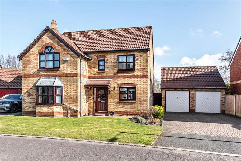 4 Bedrooms Detached House for sale in Aspen Close, Heswall, Wirral, CH60 1YJ