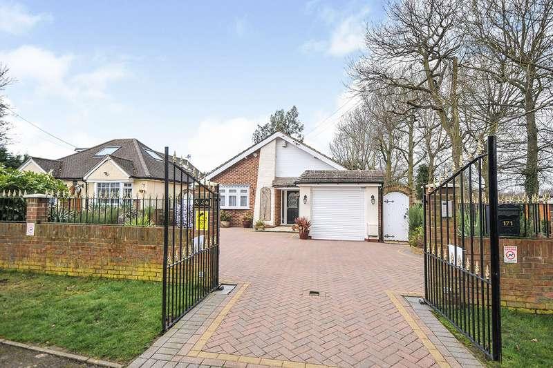 3 Bedrooms Detached Bungalow for sale in Hever Avenue, West Kingsdown, Sevenoaks, Kent, TN15