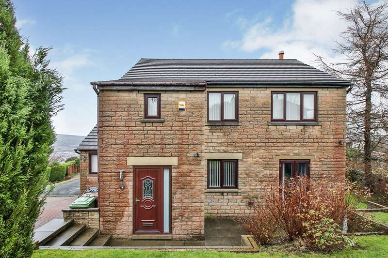 3 Bedrooms Detached House for sale in Horncliffe Heights, Brierfield, Nelson, Lancashire, BB9