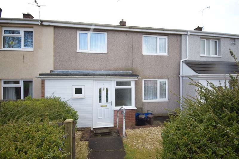 2 Bedrooms Terraced House for sale in Llandenny Walk, Southville, Cwmbran, NP44