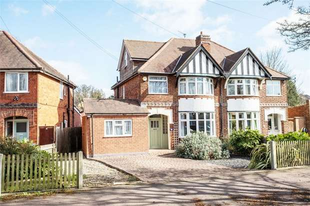 4 Bedrooms Semi Detached House for sale in Wyngate Drive, Leicester