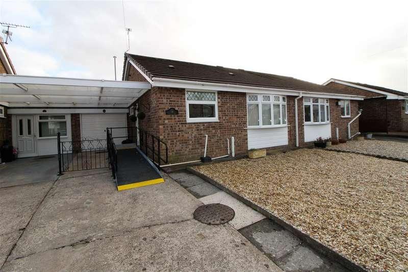 2 Bedrooms Semi Detached Bungalow for sale in Plover Crescent, Caldicot