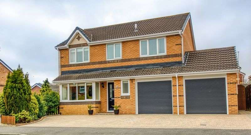 4 Bedrooms Property for sale in Delamere Crescent, Cramlington