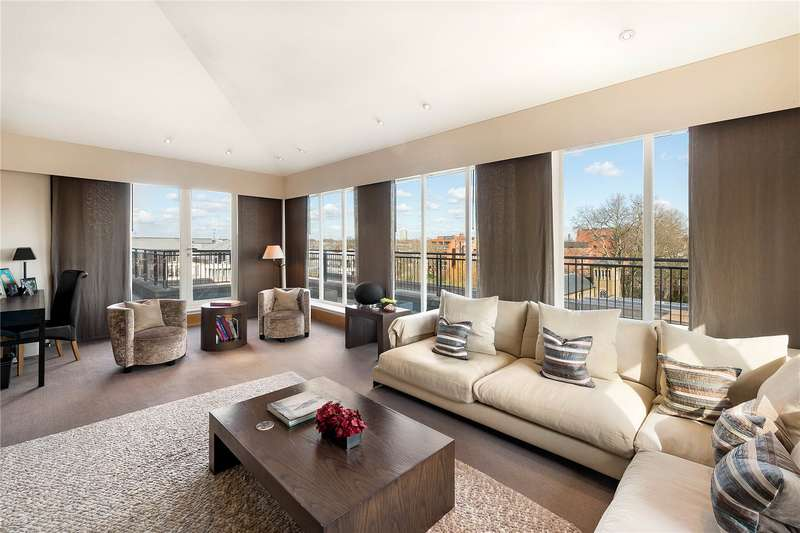 3 Bedrooms Penthouse Flat for sale in Francis House, Coleridge Gardens, London, SW10