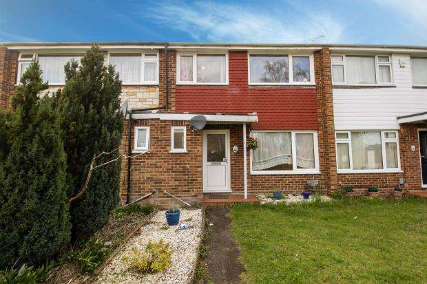 3 Bedrooms Terraced House for sale in Orwell Close, Farnborough, Hampshire