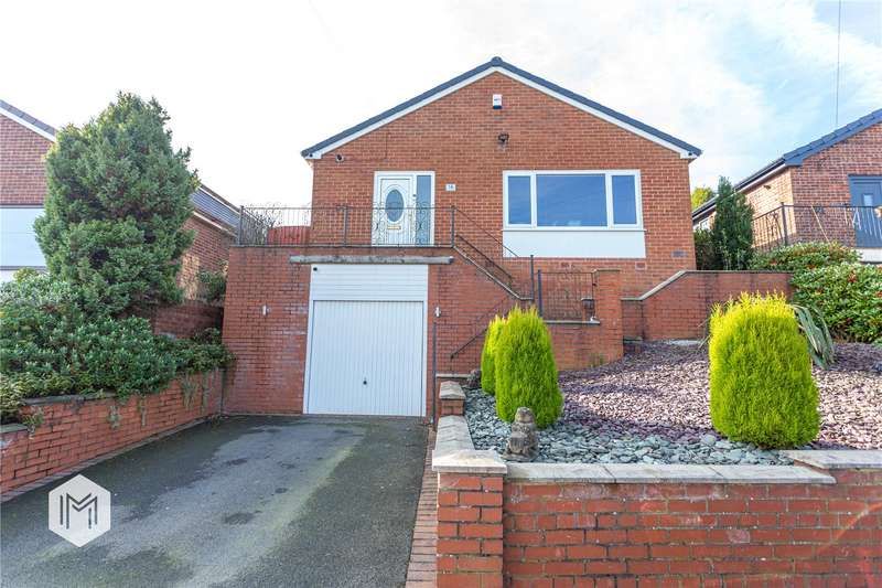 3 Bedrooms Detached Bungalow for sale in Carlton Close, Blackrod, Bolton, Greater Manchester, BL6