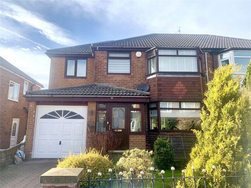 4 Bedrooms Semi Detached House for sale in Greenside Drive, Greenmount, Bury, Greater Manchester, BL8