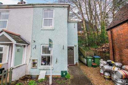 2 Bedrooms End Of Terrace House for sale in Wallington, Fareham, Hants