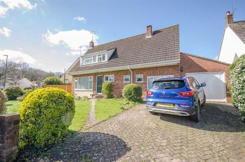 4 Bedrooms Detached House for sale in Charnhill Brow, Mangotsfield, Bristol, BS16 9JW