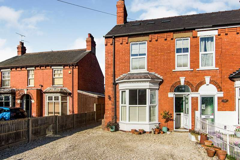 4 Bedrooms Semi Detached House for sale in Doddington Road, Lincoln, LN6