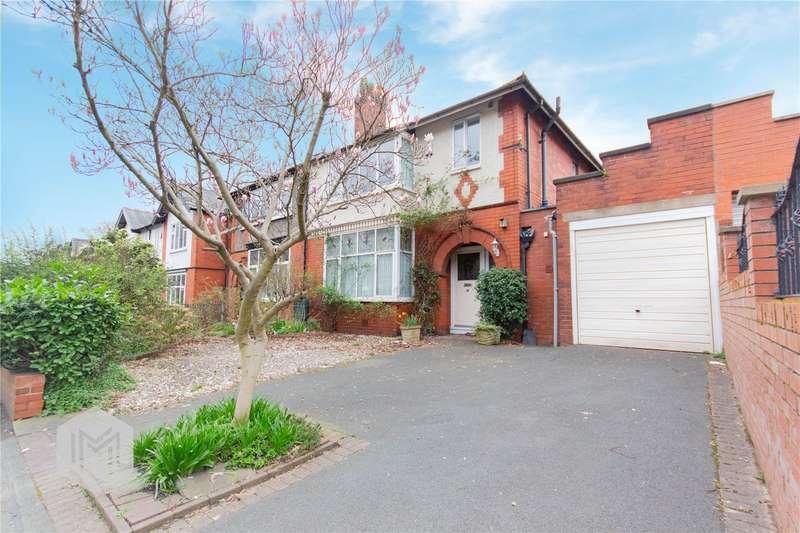3 Bedrooms Semi Detached House for sale in Tudor Avenue, Bolton, Lancashire, BL1