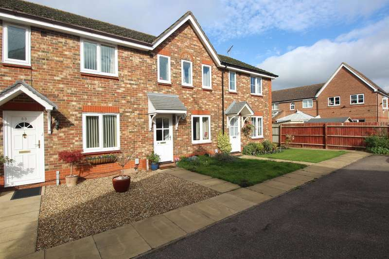 2 Bedrooms Terraced House for sale in Tamar Close, Stevenage, SG1 6AS