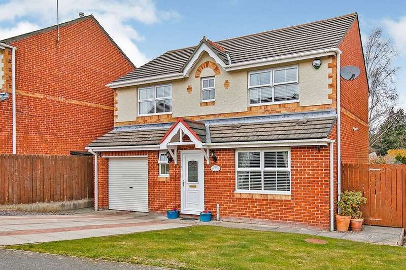 4 Bedrooms Detached House for sale in Cowell Grove, Highfield, Rowlands Gill, NE39