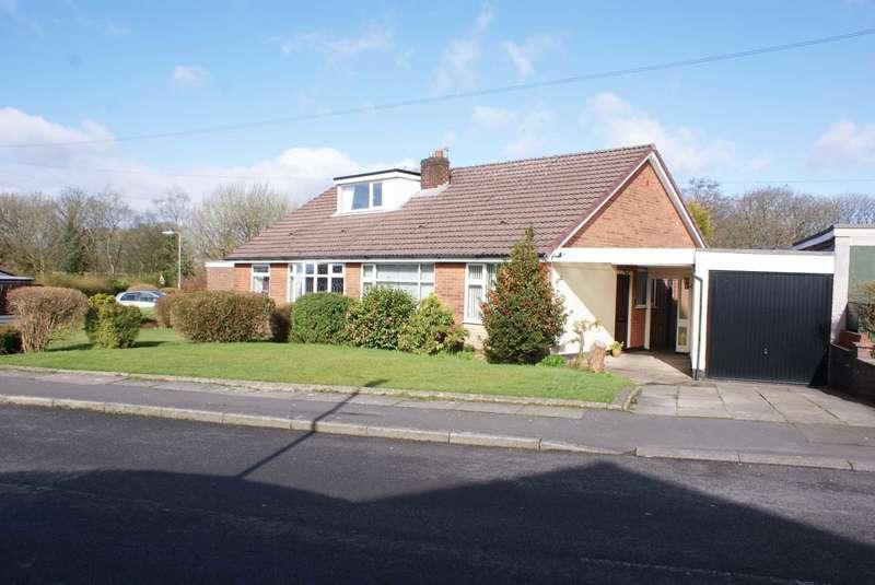2 Bedrooms Semi Detached Bungalow for sale in Moor Gate, Bradshaw