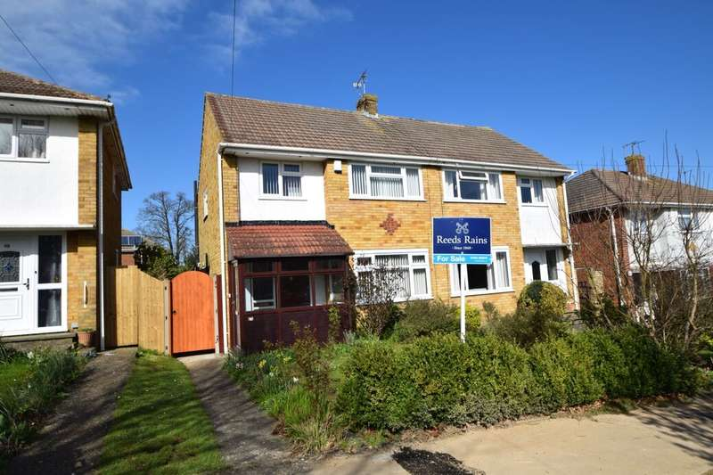 3 Bedrooms Semi Detached House for sale in Sussex Drive, Walderslade, Chatham, ME5